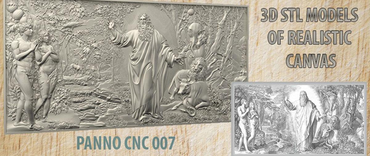 Router Engraver Machine Relief Artcam 3d STL Model CNC 116 Egyptian Girl